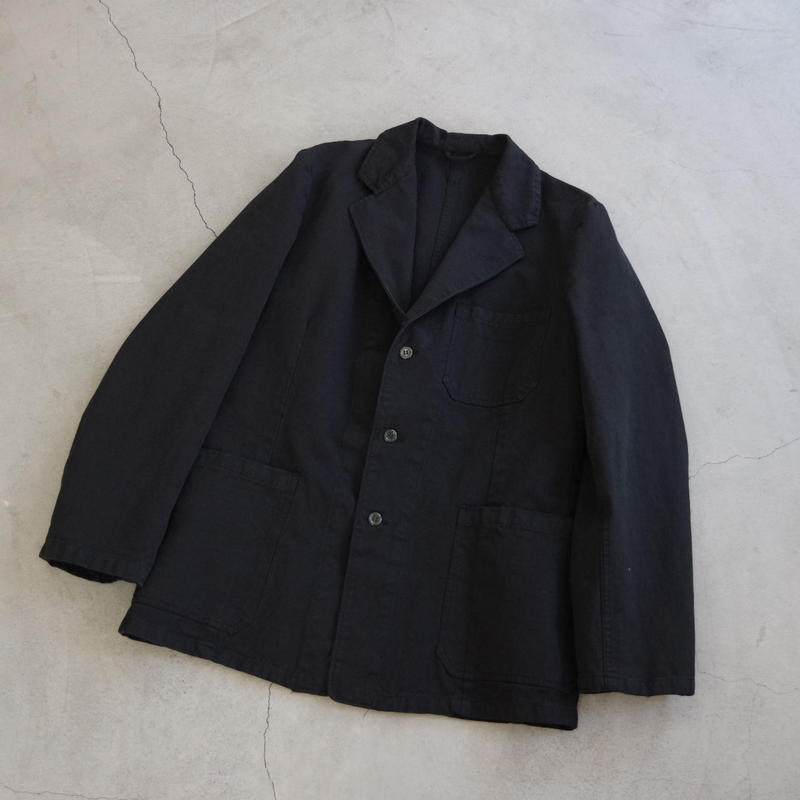 DEAD STOCK / SWEDEN ARMY PRISONER JACKET 黒染め / col.ブラック
