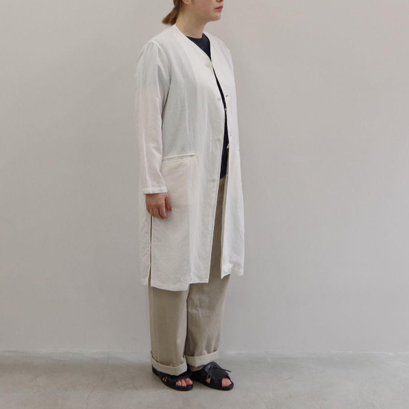 bunt / BOTANICAL DEY CARDIGAN COAT / col.ホワイト / size 0  Lady's