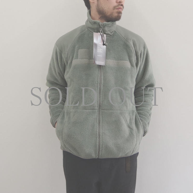 DEAD STOCK /  ECWCS Gen III Level3 Fleece Jacket / SMALL-LONG