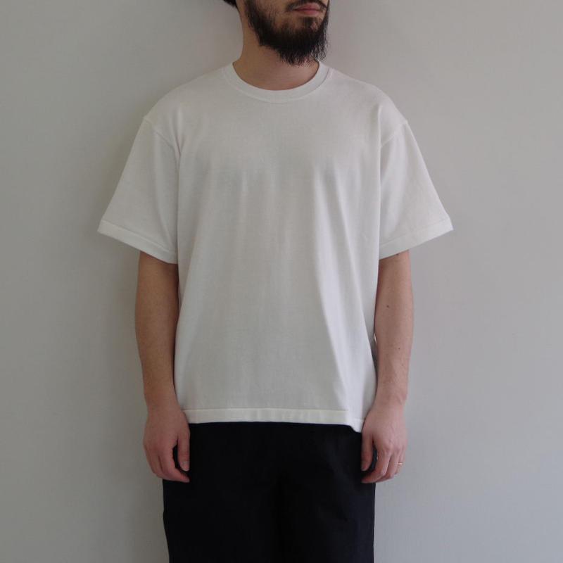 THE HINOKI / オーガニックコットンハーフスリーブTシャツ / col.ホワイト