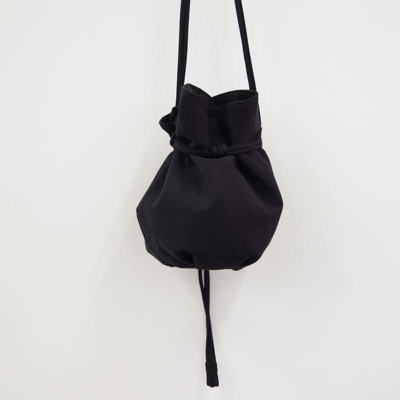 ERA. / M.S BALLOON SAC MEDIUM / col.ブラック