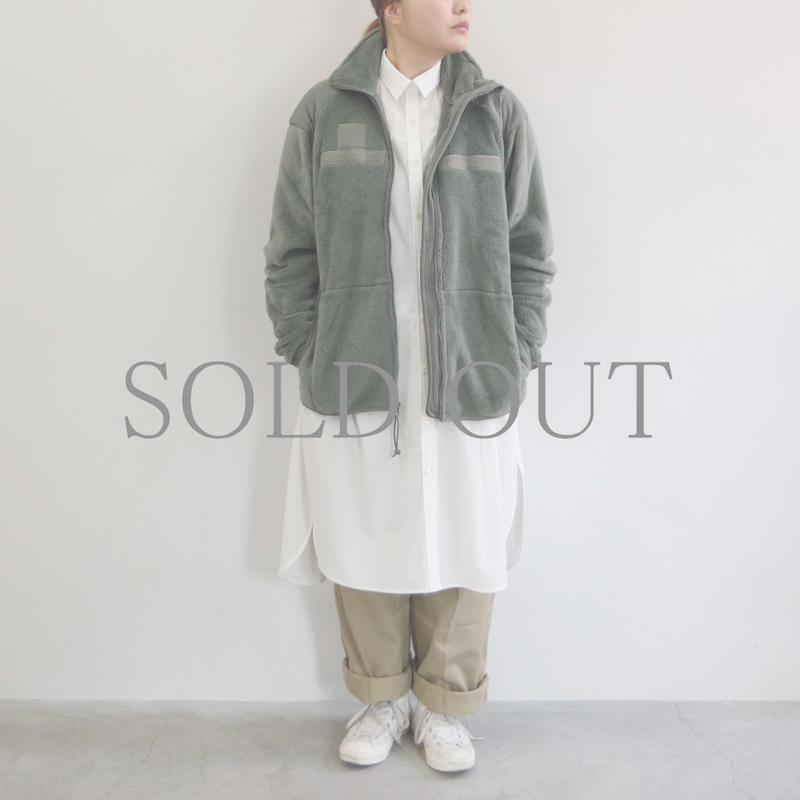 DEAD STOCK /  ECWCS Gen III Level3 Fleece Jacket / SMALL-LONG  / Lady's