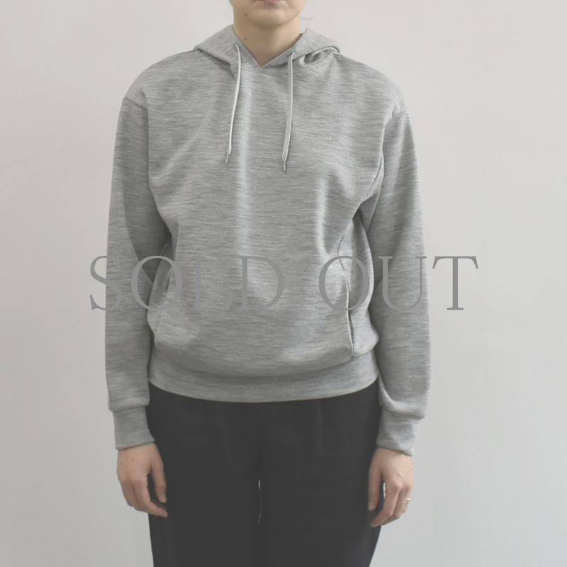 PULETTE / Wool Jersey Hoodie / col.グレー