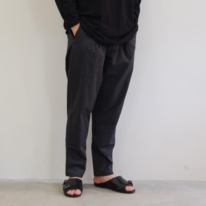 pssst,sir / sl002 slip pants / col.ダークグレー / Men's