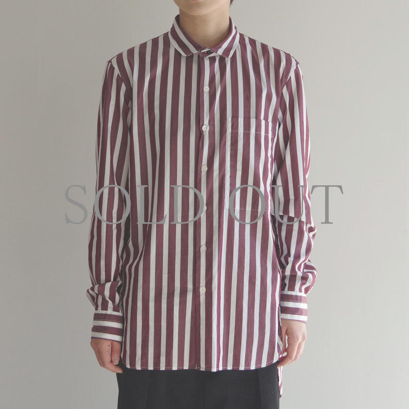 KICS DOCUMENT / CTTN STRIPE LONG SH