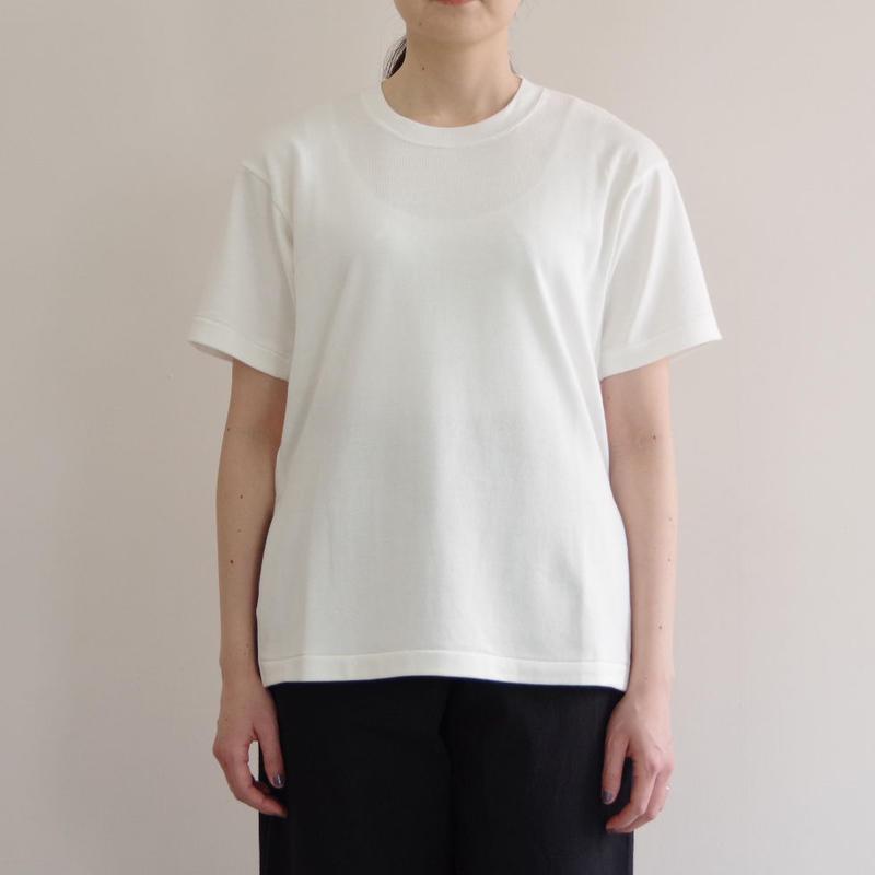 THE HINOKI / オーガニックコットンハーフスリーブTシャツ / col.ホワイト / Lady's
