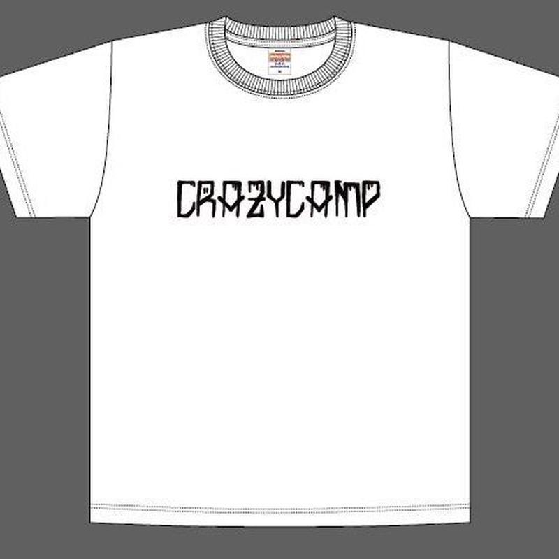 CRAZY CAMP ロゴTシャツ
