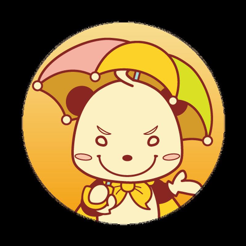 缶バッジ(Happy Rain)