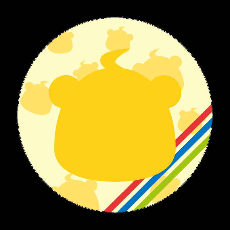 缶バッジ (こーちゃん衣装)