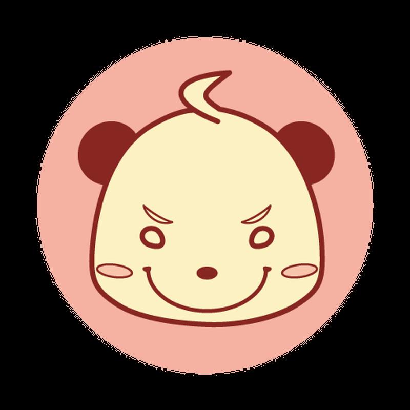 缶バッジ(ピンク)
