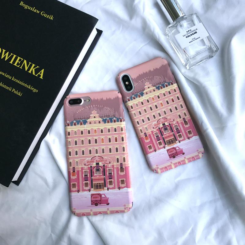 iPhoneケース #Grand Budapest Hotel