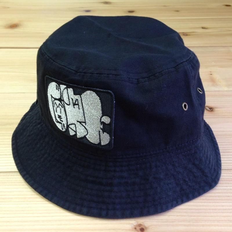 """再入荷 """"もへじ"""" Bucket Hat"""