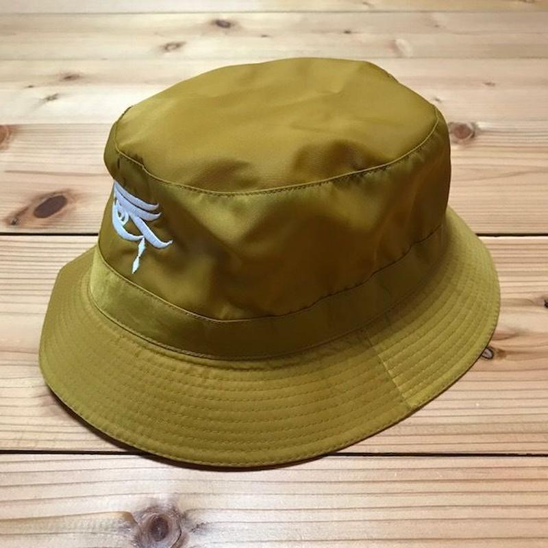 """MOZYSKEY """"三つ目"""" BUCKET HAT"""