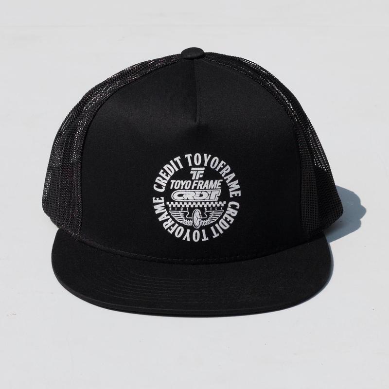 HideandSeek × CREDIT × TOYO  Mesh Cap ・Black