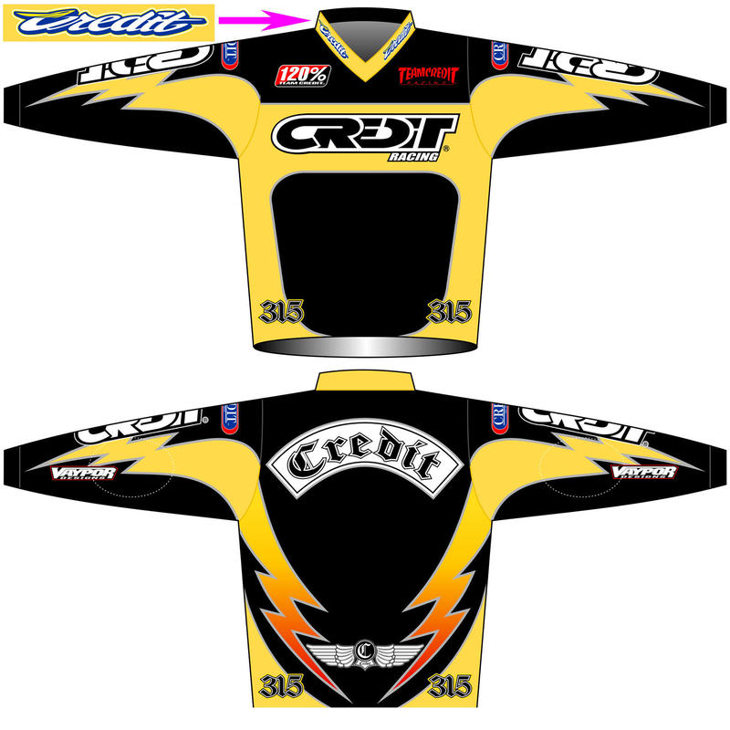 """CREDIT FACTORY"" MX  JERSEYS"