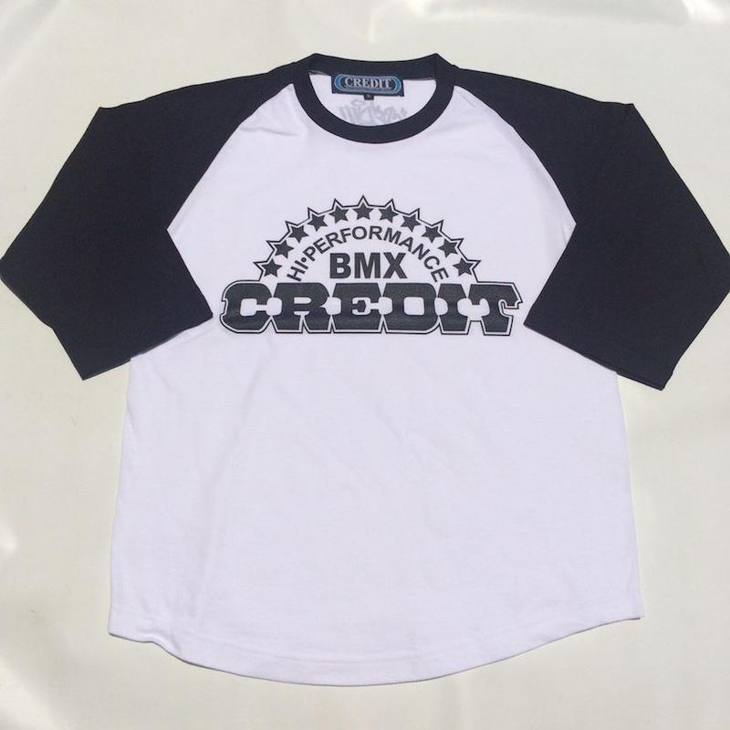 CREDIT CLASSIC BASEBALL STYLE - JERSEY SHIRT・White/Black