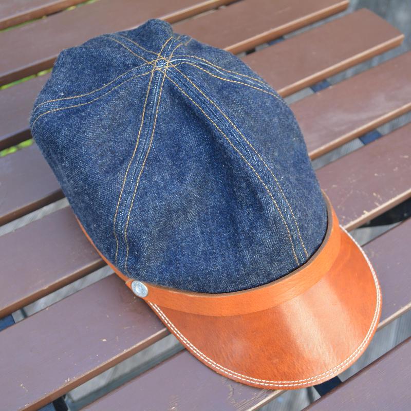 boncoura ボンクラ帽 デッドストックデニム