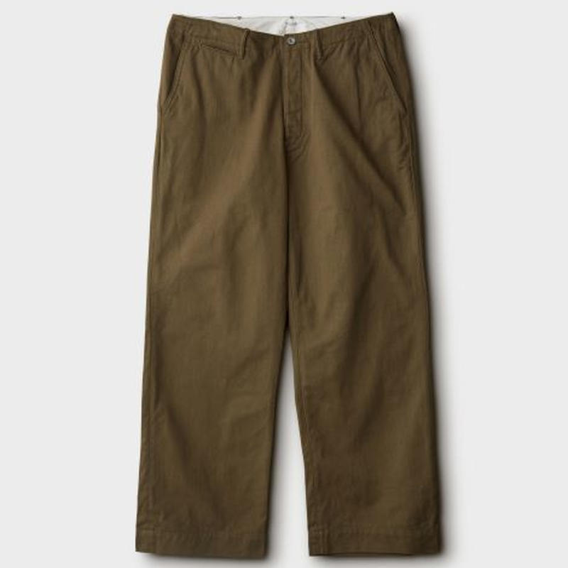 PHIGVEL‐MAKERS Co. PMAⅠ‐PT11R‐OFFICERTROUSERS(WIDE)‐