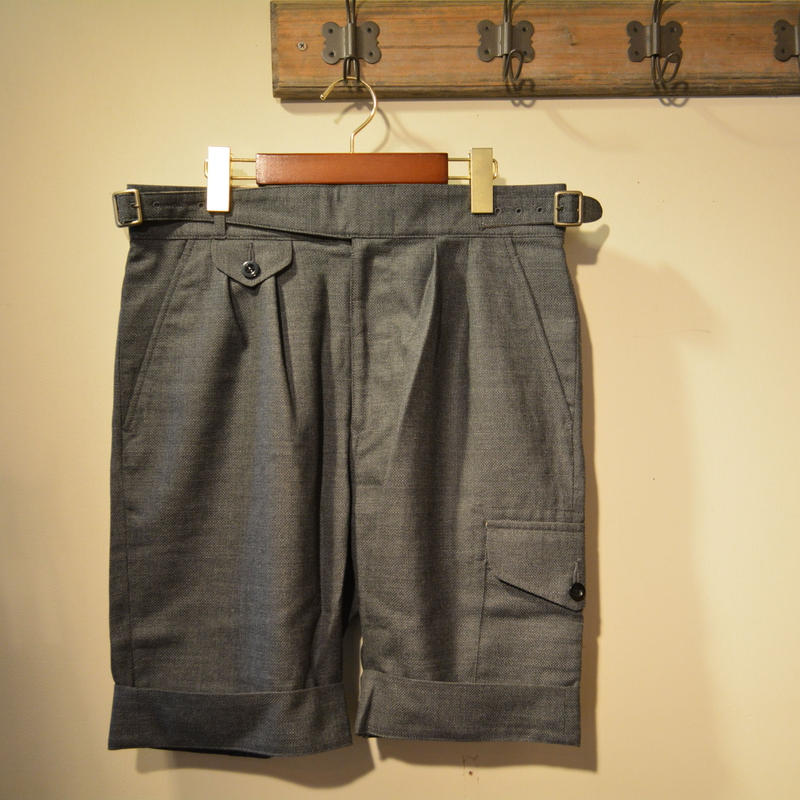 kenneth field GURKA SHORTS -canonico hopsack-