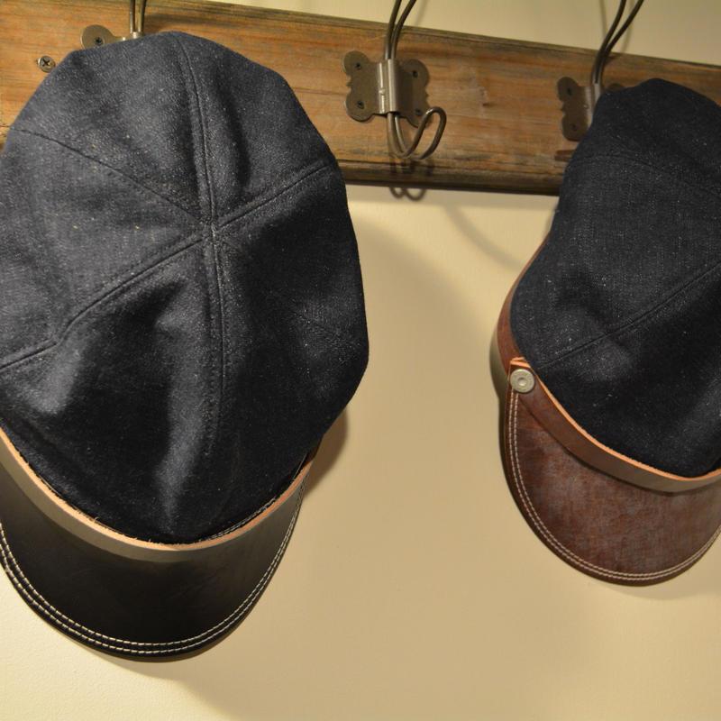 boncoura credo limited  ボンクラ帽‐USN デッドストックデニム‐