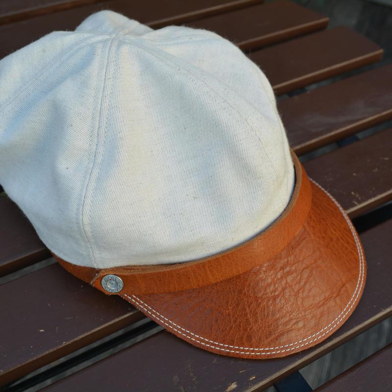 boncoura ボンクラ帽 リネン混ツイルキャンバス