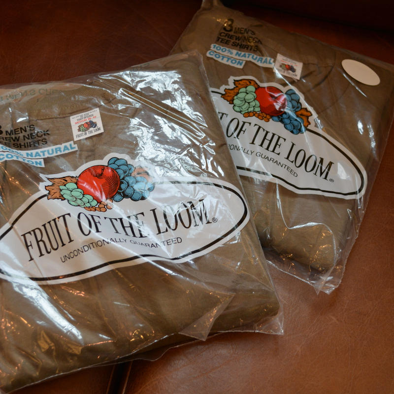 Deadstock 1983'S FRUIT OF THE LOOM 3P Tee