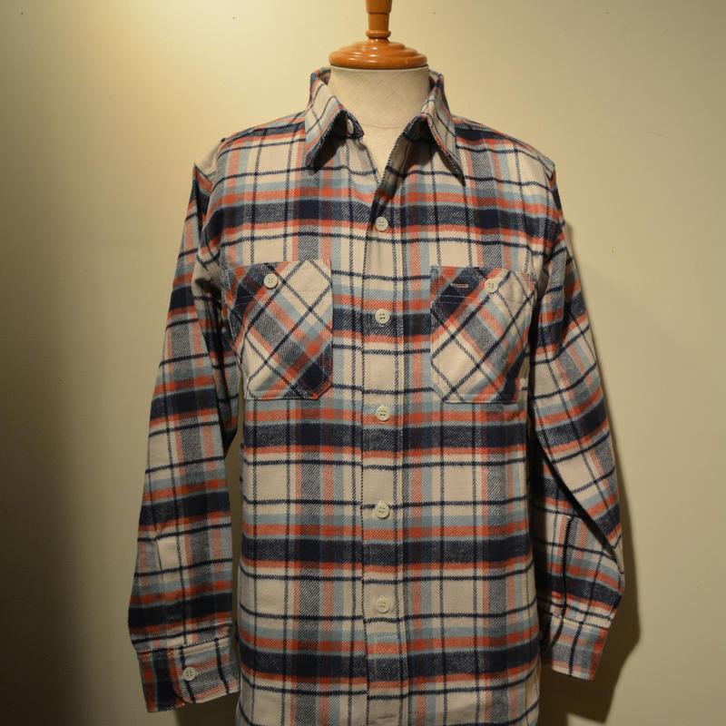 boncoura 2017aw ネル生地ワークシャツ