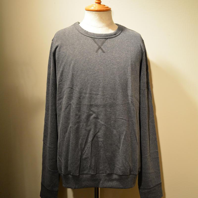 schiesser -hugo sweat- dark grey melange