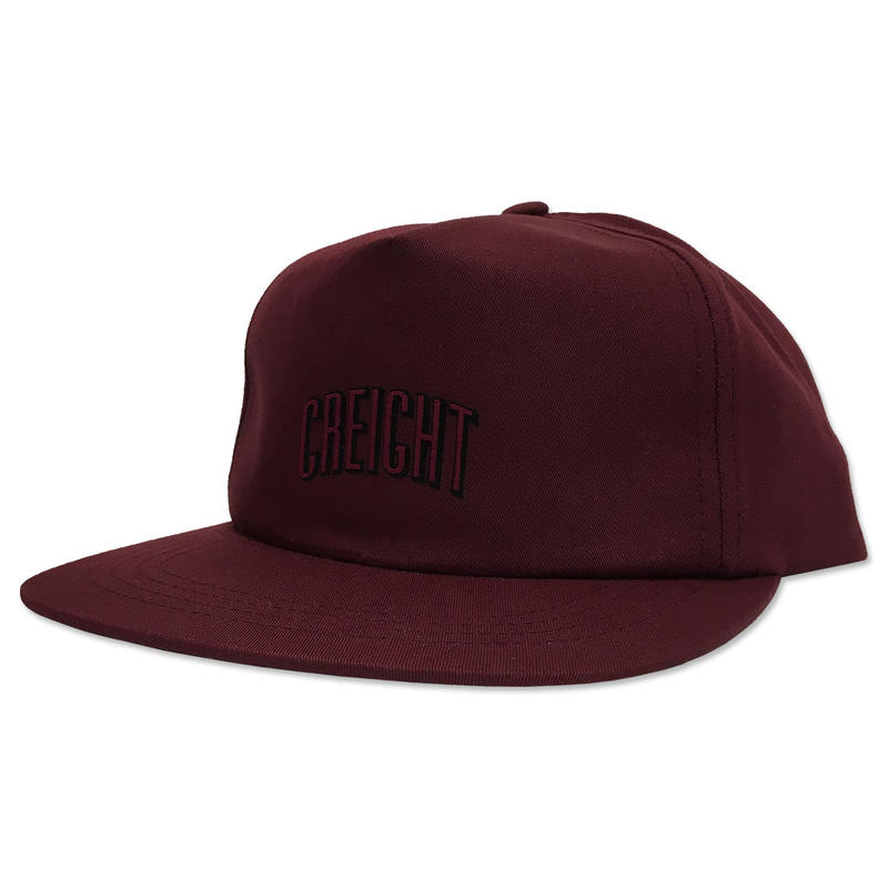 "CREIGHT ""LOGO UNSTRUCTURED CAP"" / MAROON"