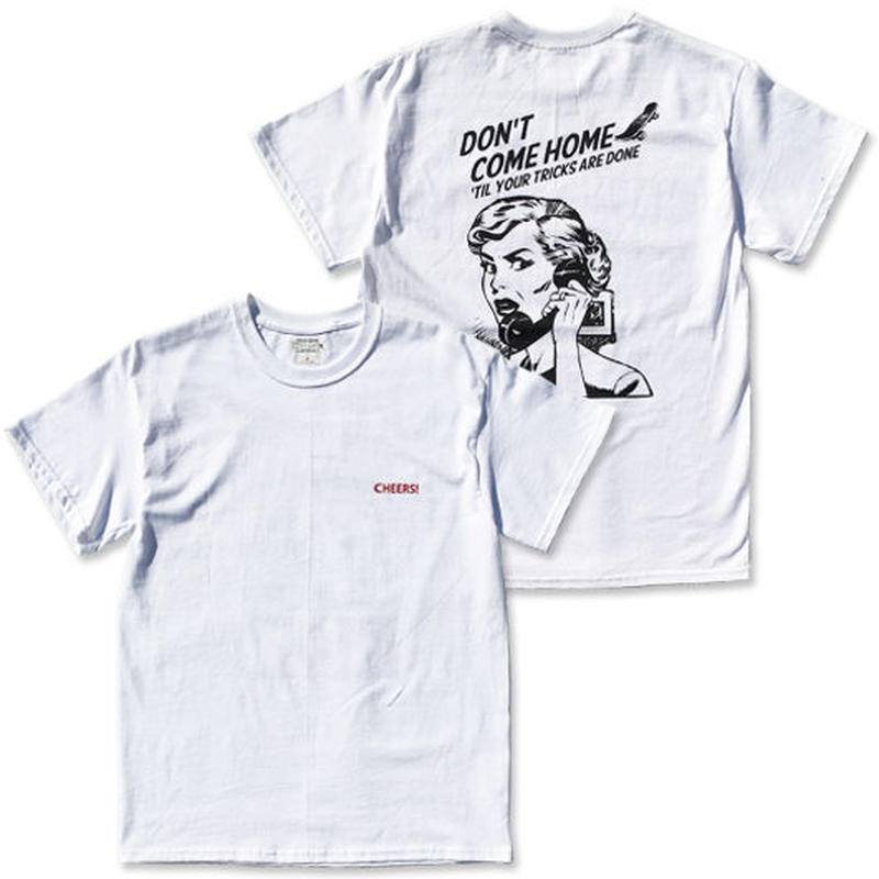 "CREIGHT ""SPARTA MOM LTD TEE"" / WHITE"