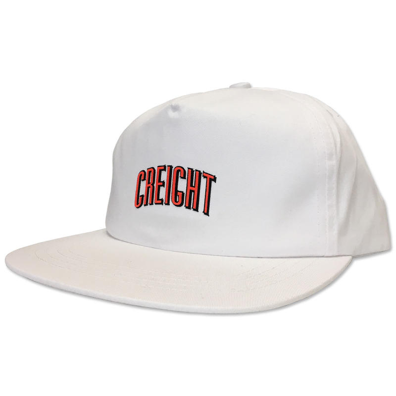 "CREIGHT ""LOGO UNSTRUCTURED CAP"" / WHITE"