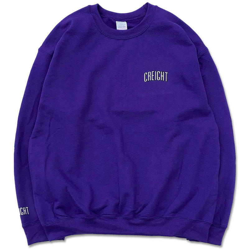 "CREIGHT""LOGO Crew 8oz""/PURPLE"