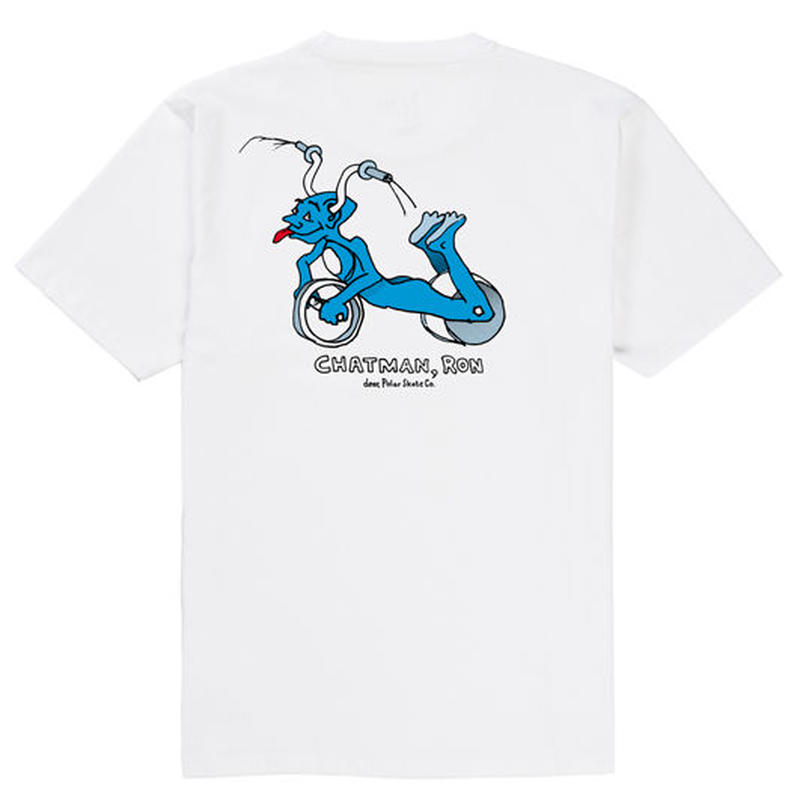 "dear, x Polar ""RON CHATMAN PRO TEE""/WHITE"