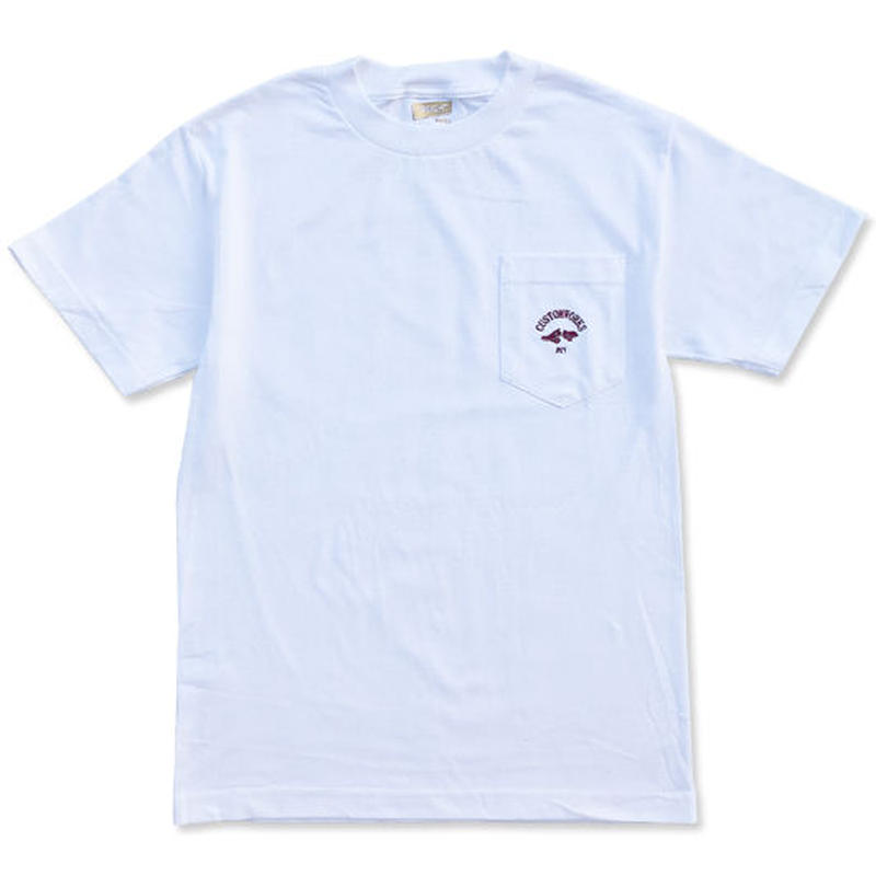 "CREIGHT CUSTOM WORKS ""POCKET TEE"" / WHITE"