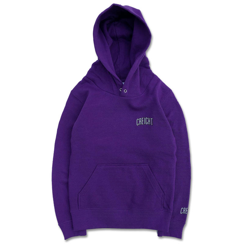 "CREIGHTキッズ""LOGO 8.4oz PullOver""/PURPLE"