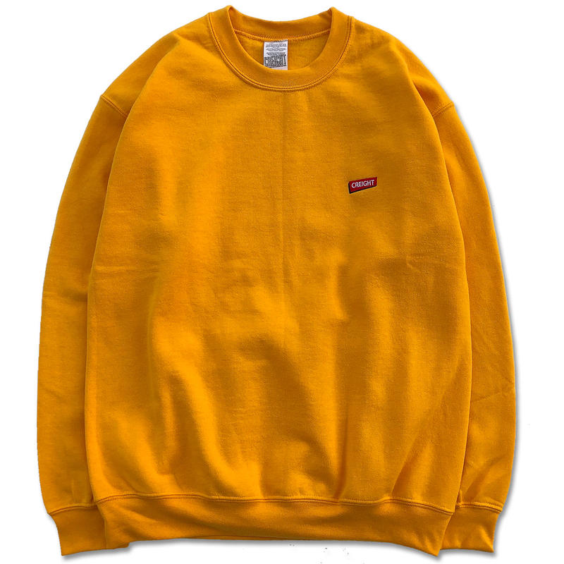 "CREIGHT""BOX LOGO Crew 8oz""/GOLD"