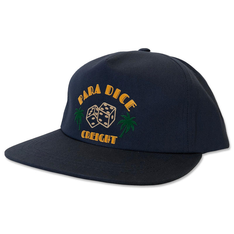 "【CREIGHT ""DICE UNSTRUCTURED CAP"" / NAVY"