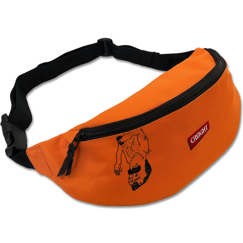 "CREIGHT""DANIEL WAISTBAG""/ORANGE"
