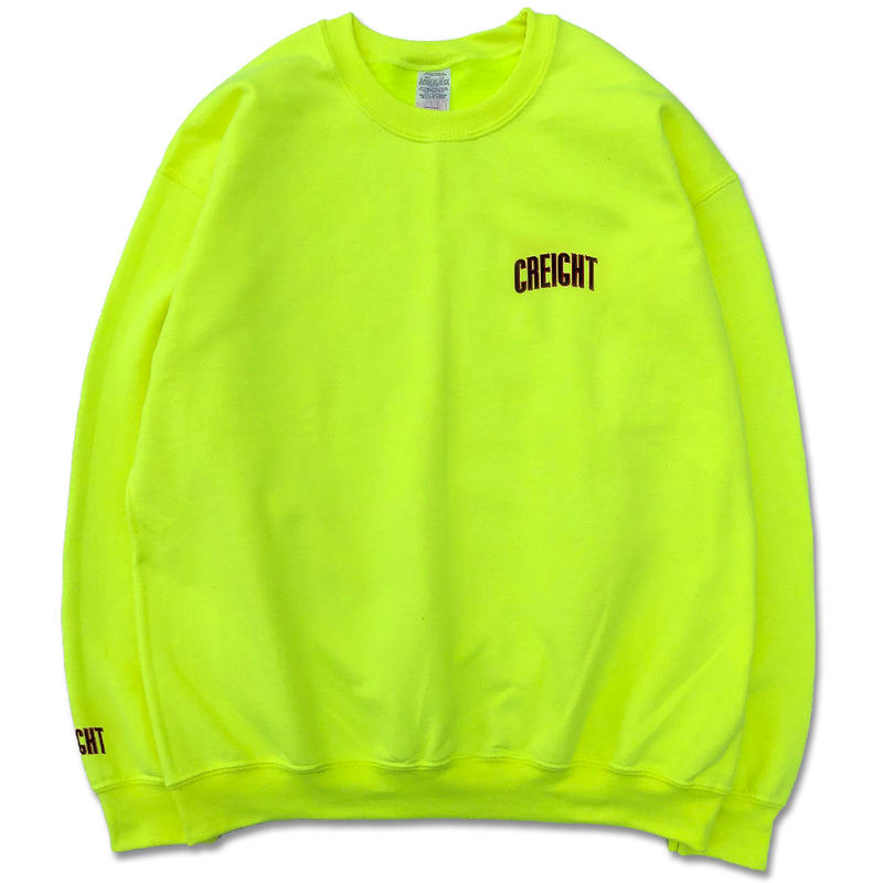 "CREIGHT""LOGO Crew 8oz""/SAFETY GREEN"