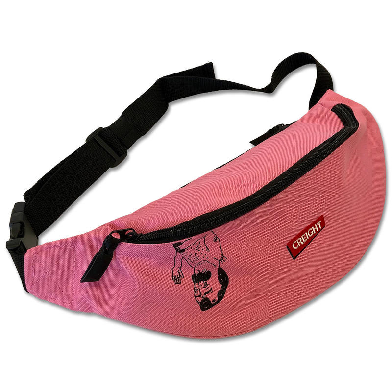 "CREIGHT""DANIEL WAISTBAG""/TRUE PINK"