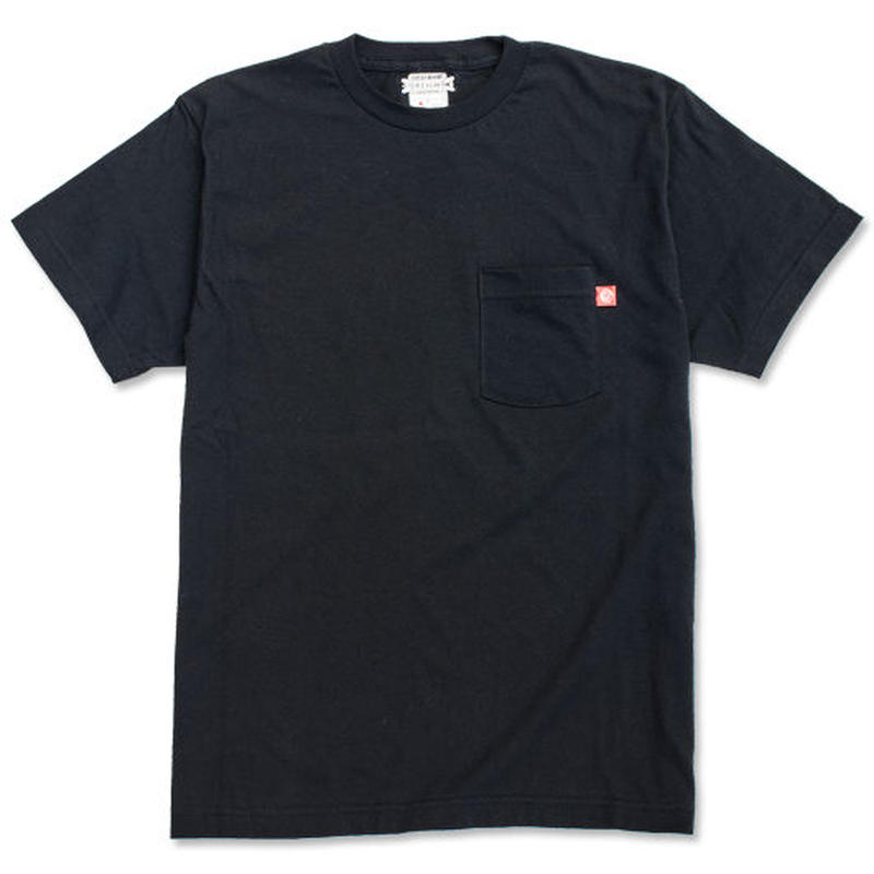 "CREIGHT ""ORIGINAL POCKET TEE"" / BLACK"