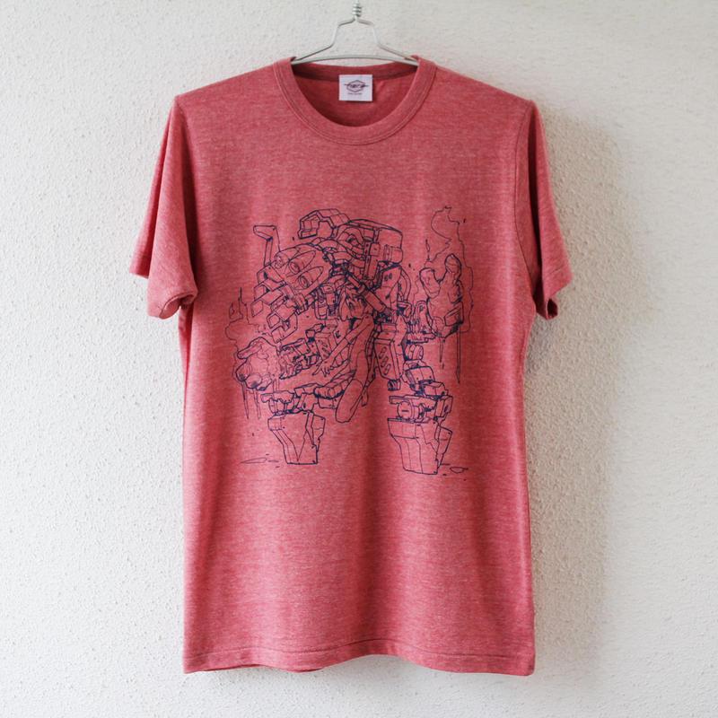 mzn / Mecha Girl T-shirt + Perspectives of Shinya Mizuno