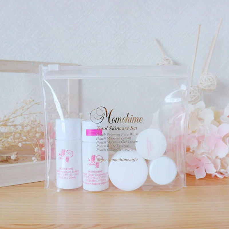 Momohime Total Skincare Trial Set