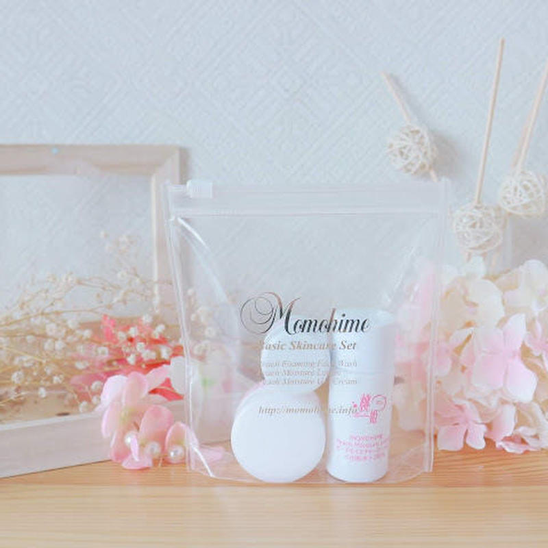 Momohime Basic Skincare Trial Set