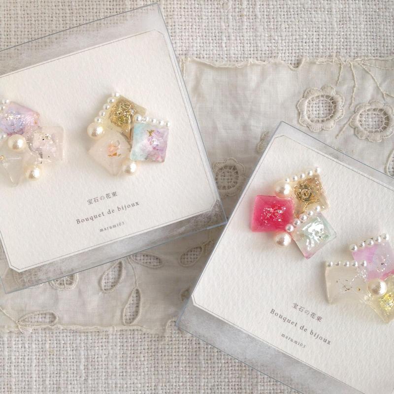 marumi03 | 宝石の花束・イヤリング