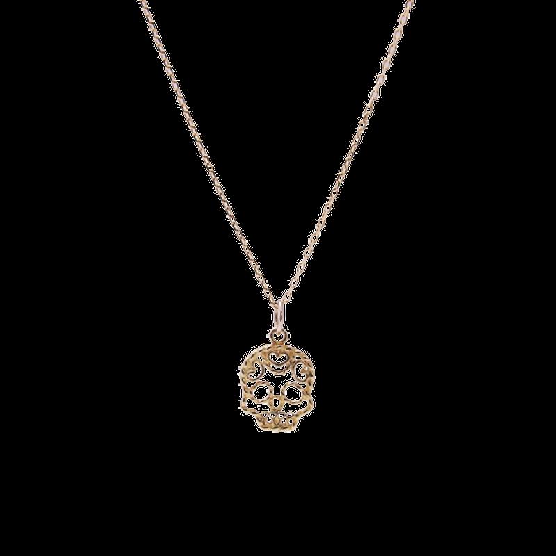 Skull Necklace 【S】 / スカル・ネックレス 【Sサイズ】 < フィリグリー >