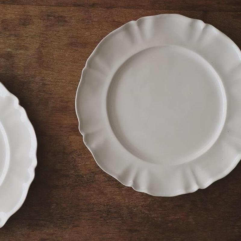 レリーフ平皿