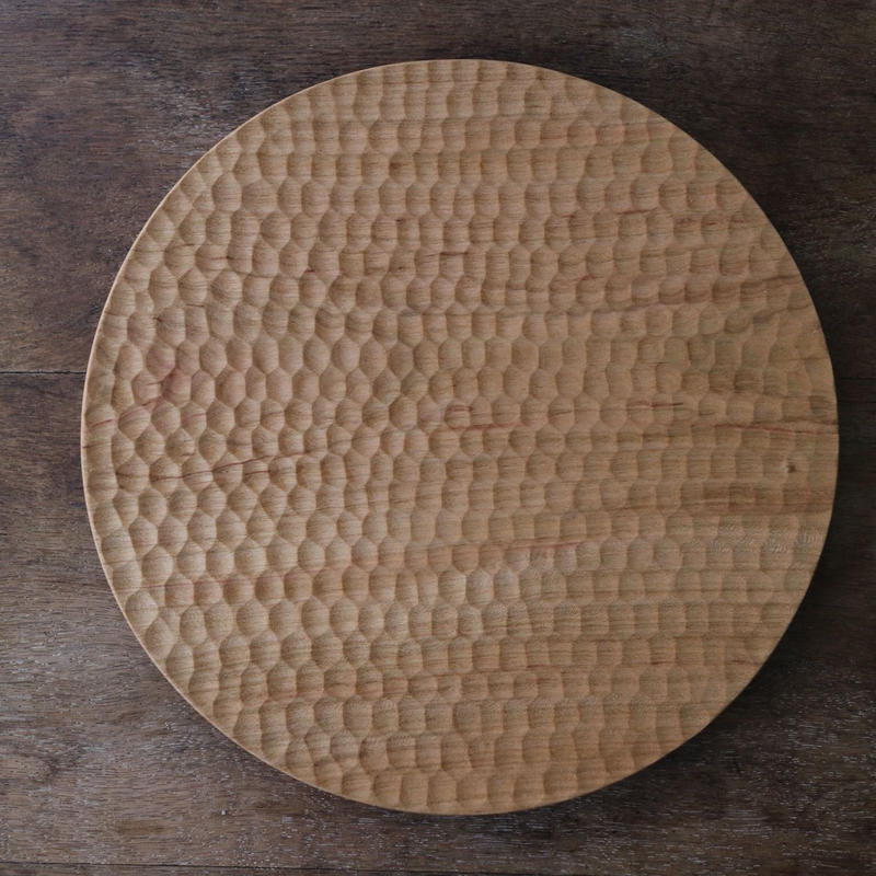 高塚和則  パン皿(大)はちのす
