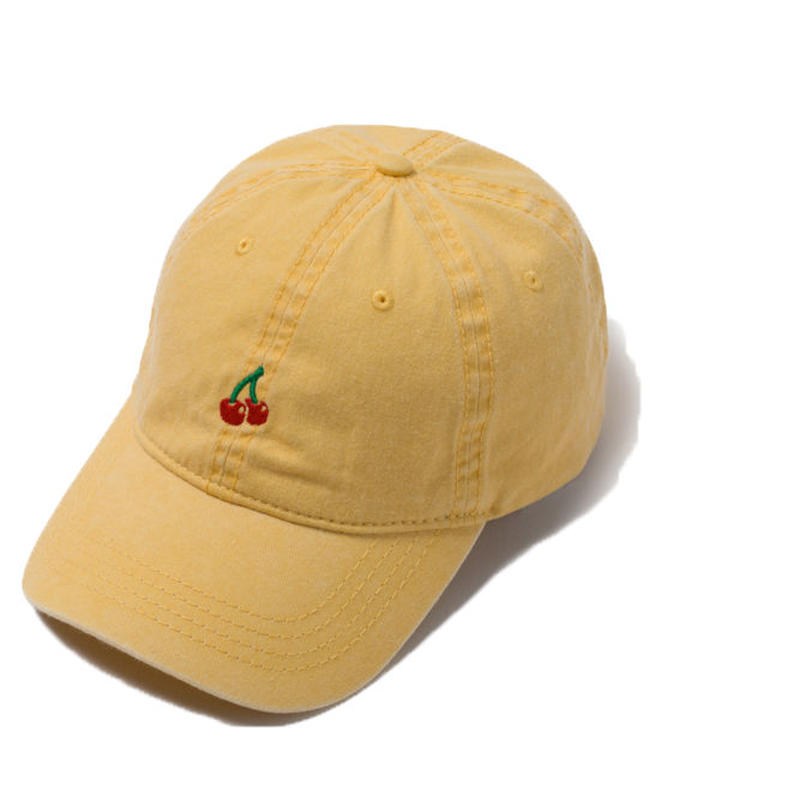 CHERRY BOY CAP (YELLOW)【CC18SS-024】