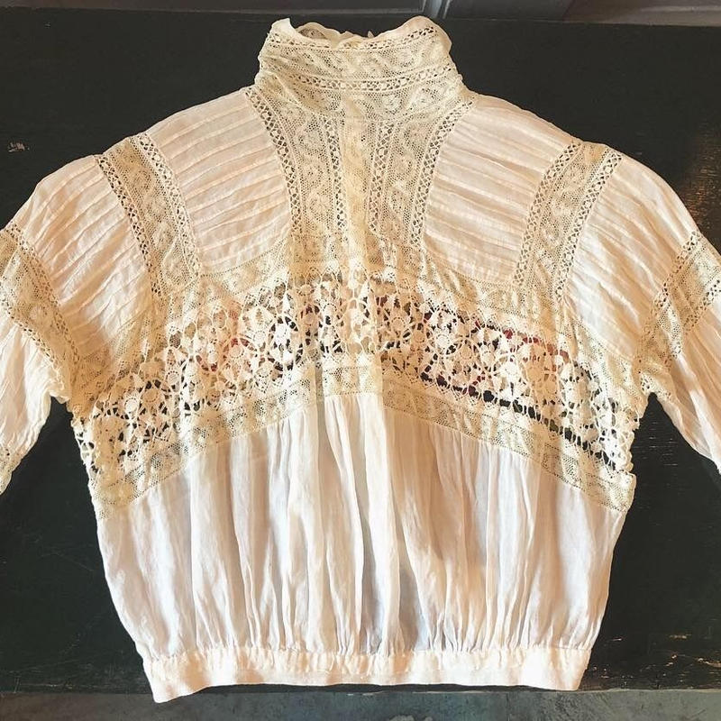 French victoria blouse